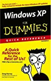 Windows(r) XP for Dummies(r) Quick Reference, Daniel Rusthoi, 0764584804