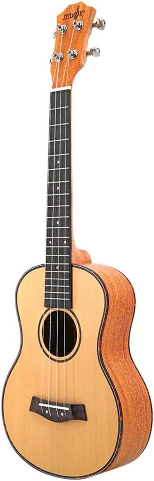 NUYI Ukulele De 23/26 Pulgadas Guitarra Pequeña De 4 Cuerdas Abeto ...