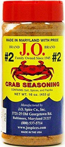 J.O. Crab Seasoning #2 16 ()