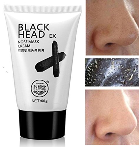 Bamboo Nose Blackhead Mask Deep Cleansing Acne Remover Shrinking Pores Mud by Superjune by Superjune