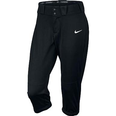 0b74d8cc0788c4 Nike Women's NK Diamond Invader Softball Pant Black/White Size XX-Large