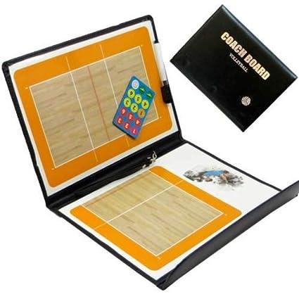 Nueva pizarra táctica magnética Volley Voleibol Coach diagrama Juegos Eco Piel