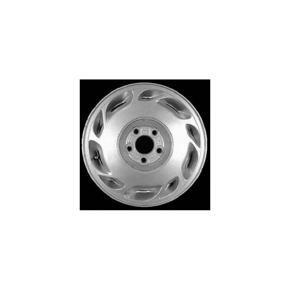 94 95 FORD TAURUS ALLOY WHEEL RIM 15 INCH, Diameter 15, Width 6 (10 SLOT), 42mm offset, SILVER, 1 Piece Only, Remanufactured (1994 94 1995 95) ALY03107U10