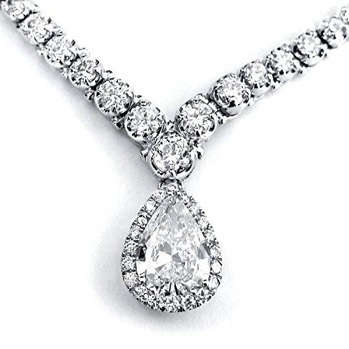 Pear Shape Diamond Eternity Te