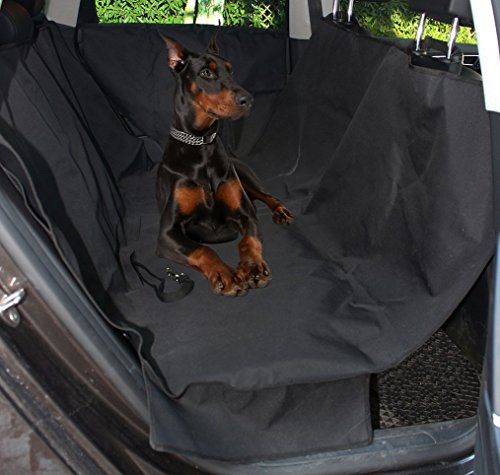 Lotfancy Waterproof Dog Car Seat Cover With 2 Car Door Covers
