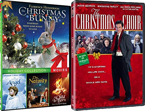The Holiday Faith 5-Movie Collection - The Christmas Bunny, The Littlest Angel, The Nativity, A Child Is Born & The Christmas Choir - Nativity Collection Blessings