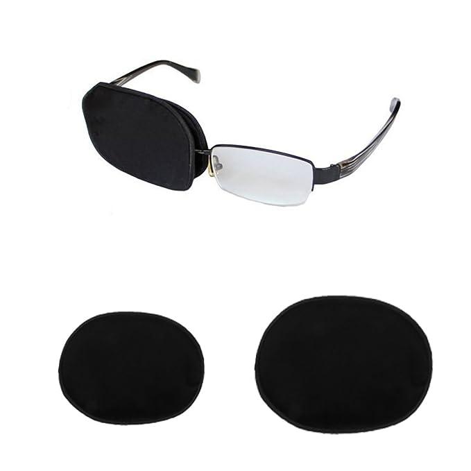 Sharplace Occhiali Medici Patch Grande Singolo Occhio Ppatch Per Bambino  Adulto - Adulto nero, Taglia unica: Amazon.it: Abbigliamento