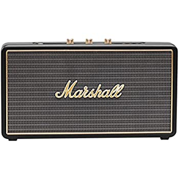 Marshall Stockwell Portable Bluetooth Speaker, Black (4091390)