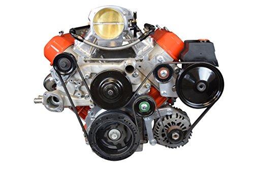 (LS Corvette Low Mount Alternator, Power Steering Pump Brackets LSX LS1 LS3 LS2 551769-1)