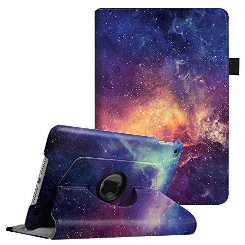 Fintie iPad mini 4 Case - 360 Degree Rotating Stand Smart Protective Case Cover Auto Sleep/Wake Feature for Apple iPad mini 4 (2015 Release), Galaxy