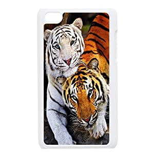 Unique Phone Case Pattern 4Powerful Tiger Pattern- FOR IPod Touch 4th