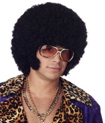 California Costumes Mens Afro Chops Wig