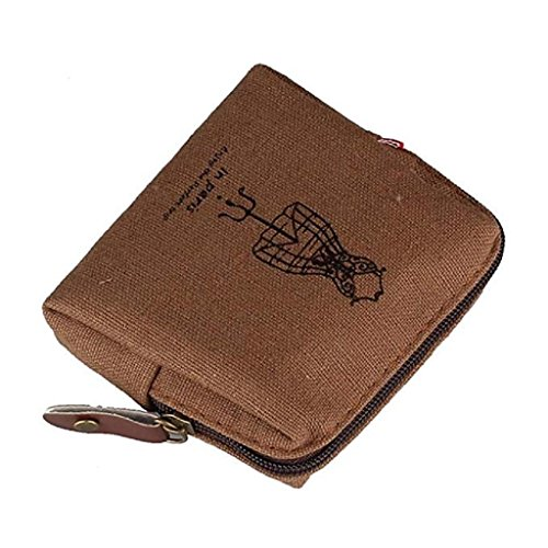 rolfs Card Handbags Noopvan wallet Purse Coffee Mini Retro Womens 2018 Zipper Holders Lady Wallet Clearance Clutch Wallet TvS4Twx6B