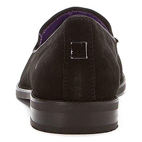 Shoes Rhinestones Suede Sperry STS Sider 7 Black Top Pennington BwxZqTPpH
