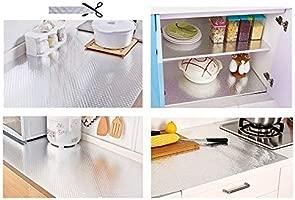 Kitchen Backsplash Wallpaper Stickers, Peel & Stick Aluminum Foil Wall  Paper, Self-Adhesive Oil Proof Waterproof Sticker for Kitchen Walls  Cabinets ...