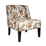 Cheap Joveco Printing Nailhead Trim Fabric Leisure Chair