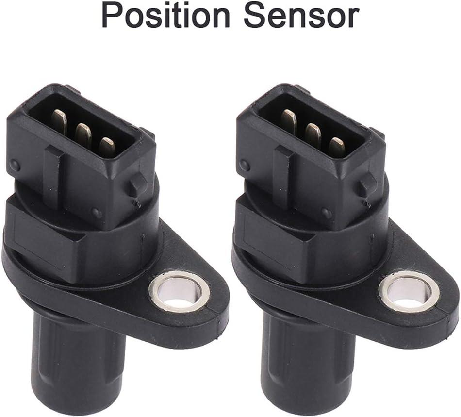 LUJUNTEC Crankshaft Position Sensor Replacement for S10134 2006-2010 Dodge Attitude 2000-2011 Hyundai Accent 2006-2011 Kia Rio 2006-2011 Kia Rio5 4pcs