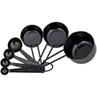 Prestige Measuring Spoons/Cups, Black, W 25.2 x H 14.0 x D 6.6 cm