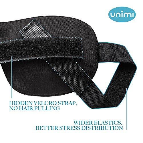 Unimi Light-Blocking No-Pressure 3D Eye Mask