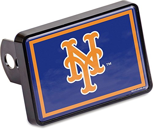 Stockdale New York Mets Universal Hitch Cover Color Bumper Trailer Auto Cap Baseball