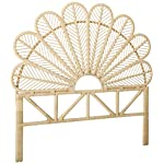KOUBOO 1110109 Headboard, Full, Natural