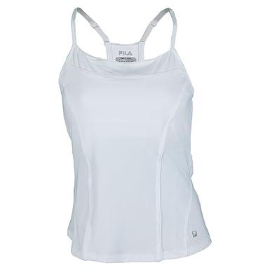 e68e52c542b4f Fila Women s Citrus Bright Cami Tank Top Tennis Shirt