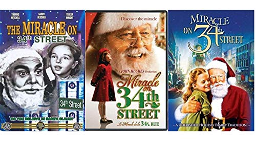 Miracle on 34th Street 3-Movie Collection 1947 / 1955 / 1994