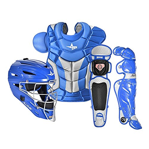 All Star System7 CKPRO1 Professional College Catchers Gear Set S7 AS Royal ADULT 15+