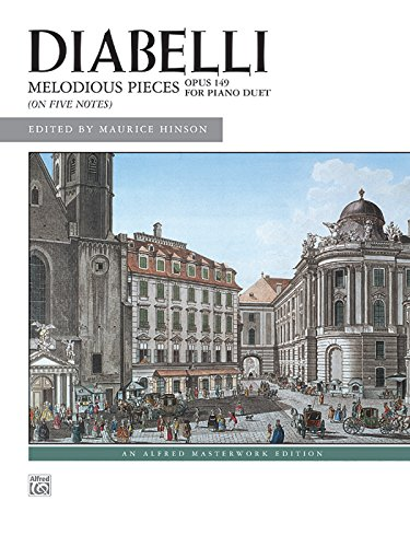 Diabelli -- Melodious Pieces on Five Notes, Op. 149 (Alfred Masterwork Edition)