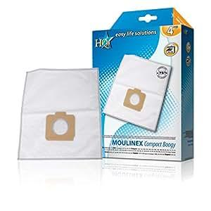 HQ W7-51508/HQF accesorio y suministro de vacío - Accesorio para aspiradora (KRUPS: 943, 945, 946, 956, 975, 997, E 73 -> 75, Compact 1200E MOULINEX: 9A82030 BG 1 -> 4 ..., 4 pieza(s))