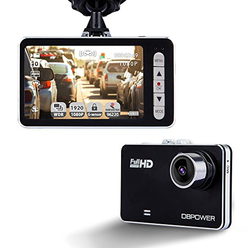 DBPOWER Recorder G sensor Camcorder Detection