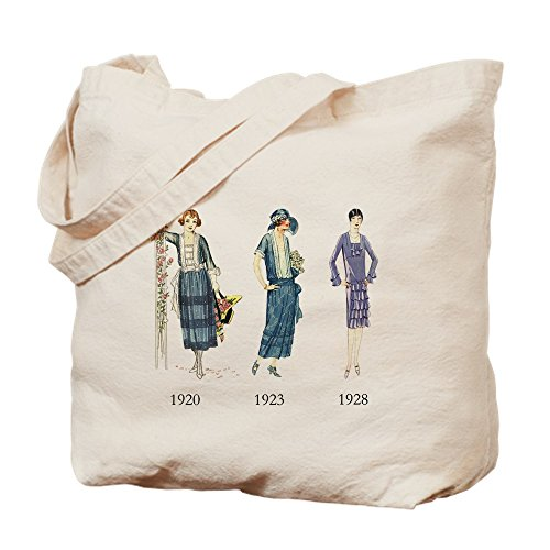 CafePress - 1920S - Natural Canvas Tote Bag, Cloth Shopping Bag