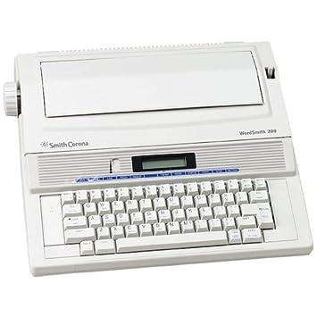 Reconstruido discontinued Smith Corona wordsmith 200 Máquinas de escribir por alrededor de la oficina con nueva máquina garantía, extra lazos y cintas de ...