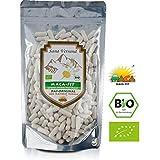 Maca fit 300 Kapseln Hochdosiert, Premium BIO Qualität aus Peru. Maca Wurzel enthält Vitamine, Aminosäuren, Proteine für mehr Kraft Konzentration und Energie. Vegan, glutenfrei für Allergiker