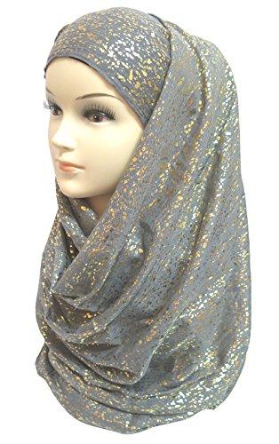 Lina Lily Glitter Plain Muslim