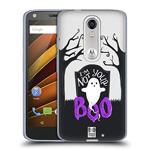 Head Case Designs Graveyard Ghost Halloween Characters Soft Gel Case for Droid Turbo 2 / X Force ()