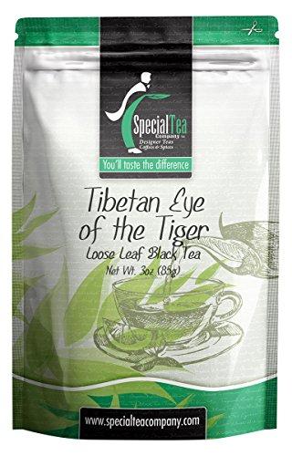 Special Tea Loose Leaf Black Tea, Tibetan Eye of The Tiger, 3 -