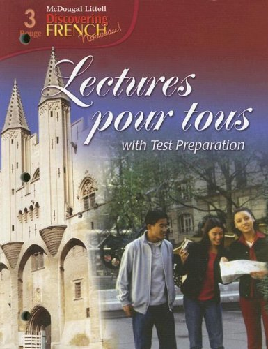 Discovering French, Nouveau!: Lectures pour tous Student Edition with Audio CD Level 3 by Brand: MCDOUGAL LITTEL