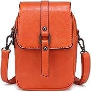 Small Crossbody Handbag, Women Multi-Functional Shoulder Bag Phone Wallet Bag Cash Purse