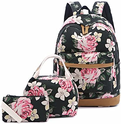 School Backpack Canvas Bookbags Laptop product image