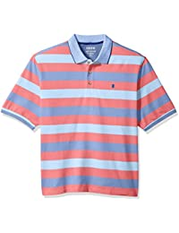 Men's Big and Tall Advantage Performance Stripe Polo
