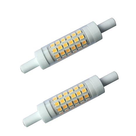 matmo R7S LED – Varilla lámpara regulable blanco cálido 78 MMX 15 mm 5 W 3000