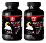 wellness formula vitamins - ADVANCED SLEEP COMPLEX 952MG - 5-htp capsules - 2 Bottles (120 Capsules)