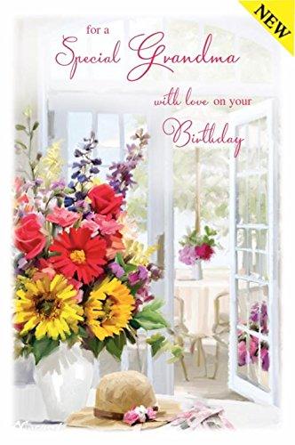 Words of Love Tarjeta de Felicitación de Cumpleaños con ...