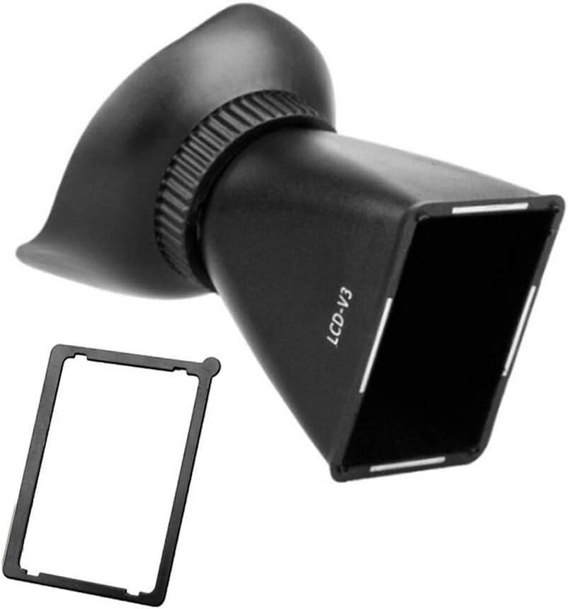KANJJ-YU SLR Camera Lcd Viewfinder Magnifier Expansion Cover Lcd Screen Camera Magnifying Viewfinder Sunshade (Caliber : V3)