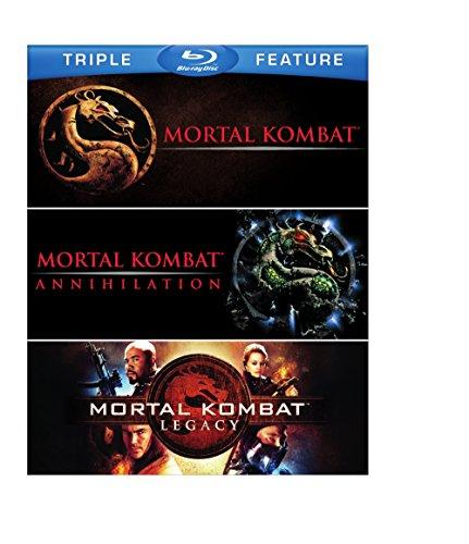 Mortal Kombat Triple Feature (Mortal Kombat/Mortal Kombat: Annihilation/Mortal Kombat: Legacy) [Blu-ray]
