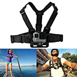 Legazone® 6 All-in-1 Combo Accessories Kit for Gopro Legazone Sports Camera - Head Strap Chest Belt Handle Monopod Folating Mount & Auto Suction Cup
