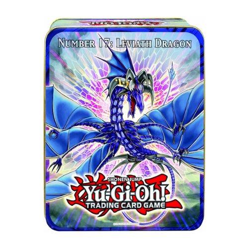 YuGiOh ZEXAL 2011 Wave 1 Holiday Tin Number 17 Leviath Dragon Includes 5 Packs Stygian Street Patrol Beast King Barbaros Dark Simorgh Konami 241783 YU/_9Tin/_CT8/_1 Pot of Duality