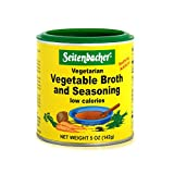 Seitenbacher Vegetable Broth and Seasoning – 5 oz. can