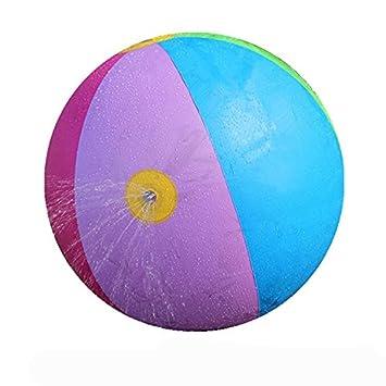 ZZM Bola de playa hinchable de 60 cm para deportes al aire libre ...